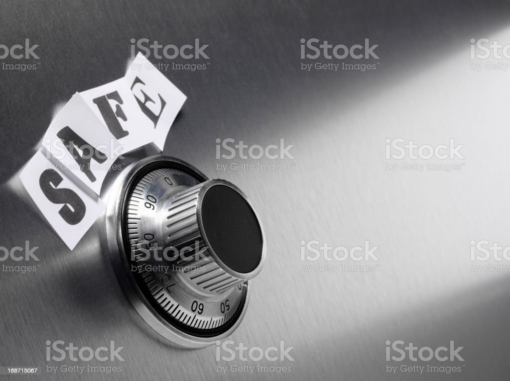 Safe and Security royalty-free stock photo