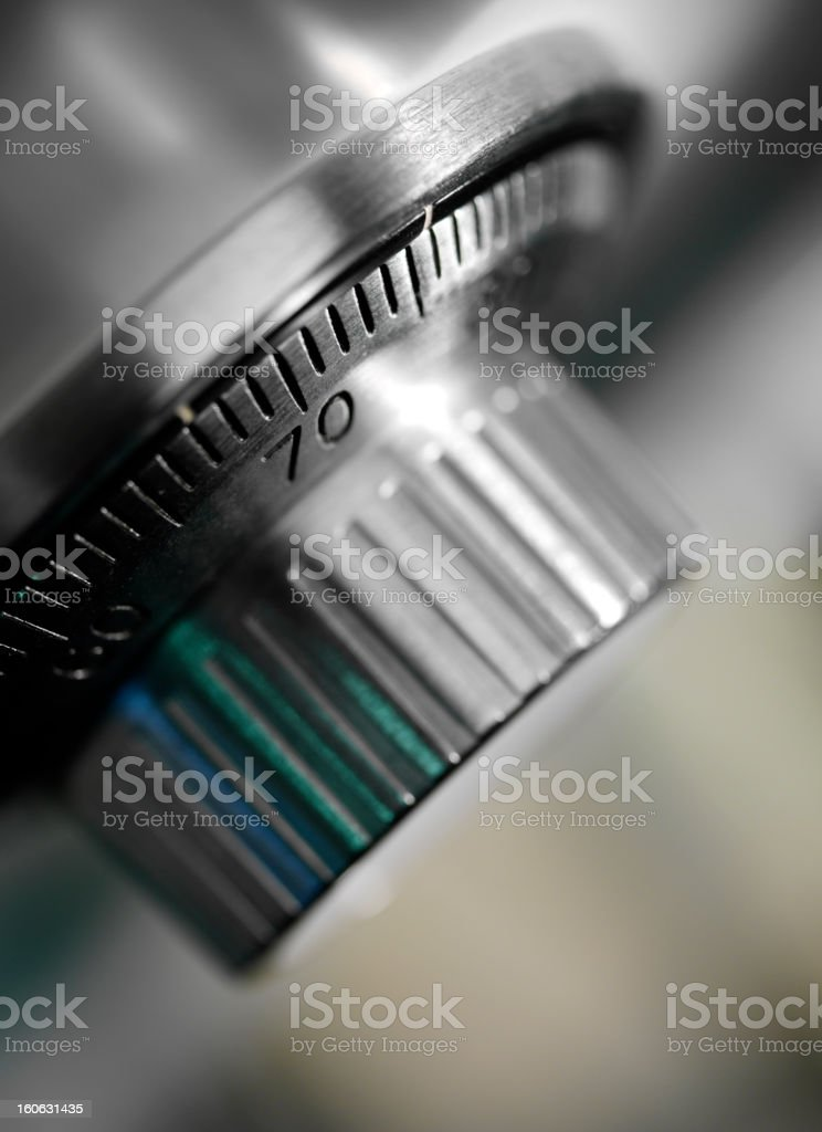 Safe Combination Lock royalty-free stock photo