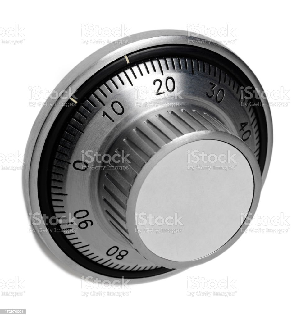 Safe Dial royalty-free stock photo