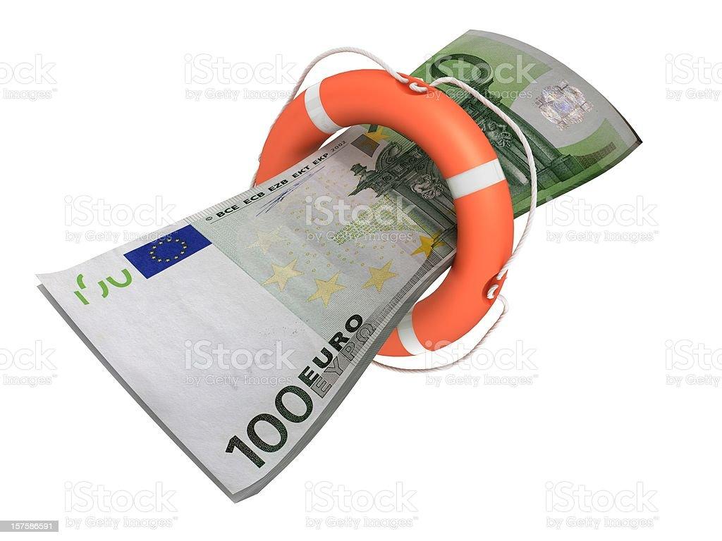 Safe Euro Money royalty-free stock photo