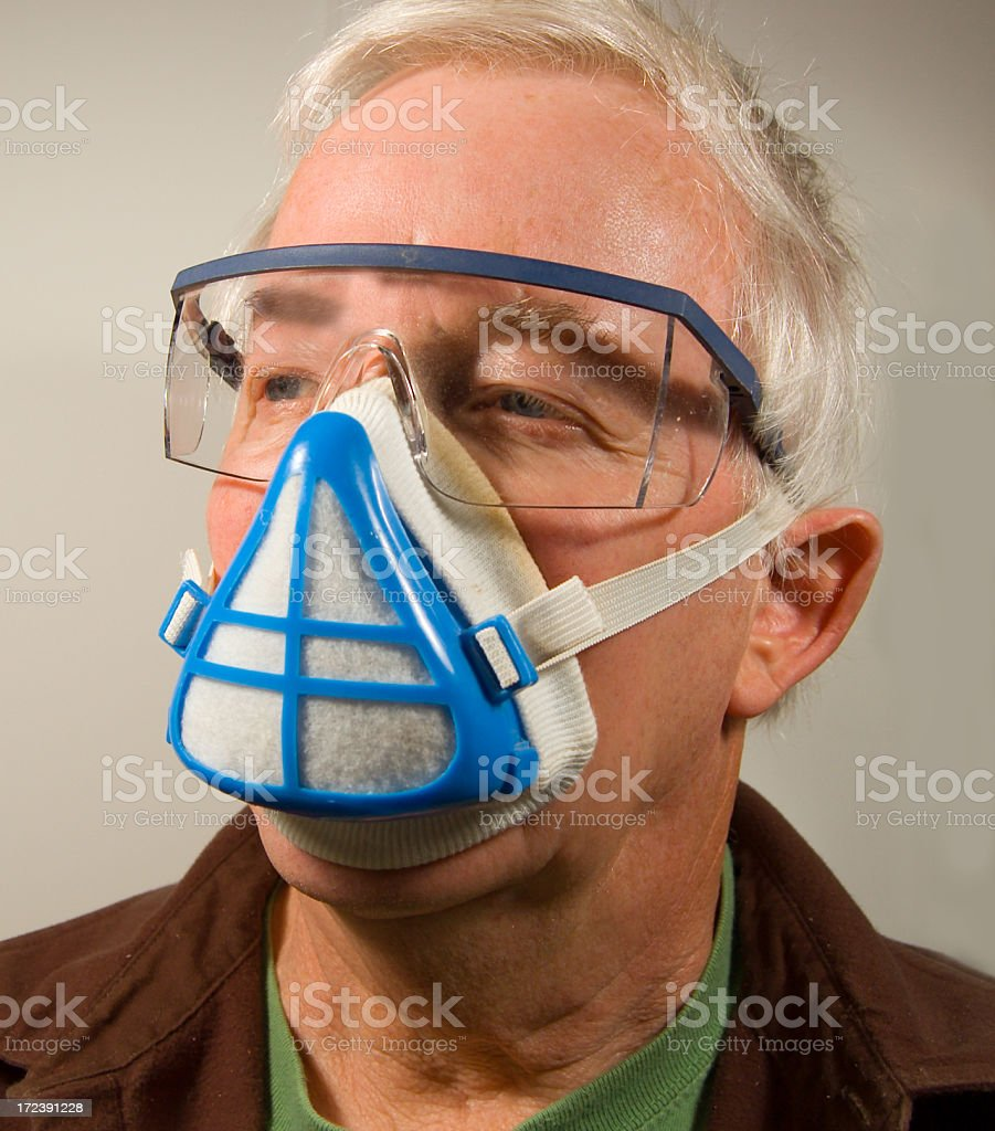 Safe Face? royalty-free stock photo