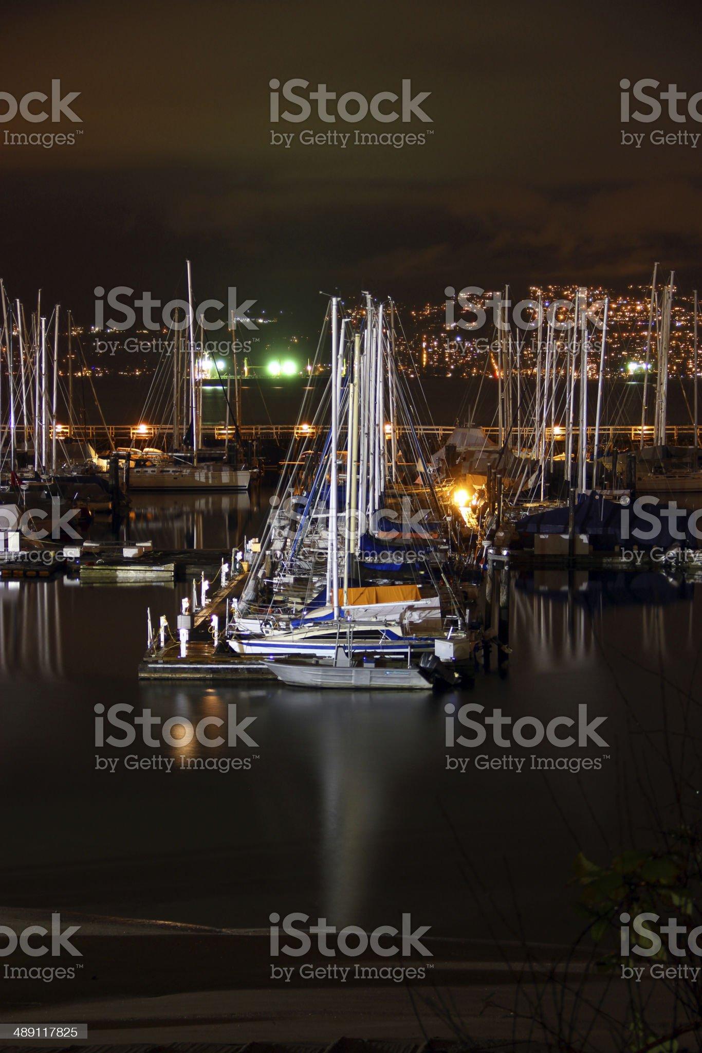 Safe Harbor royalty-free stock photo