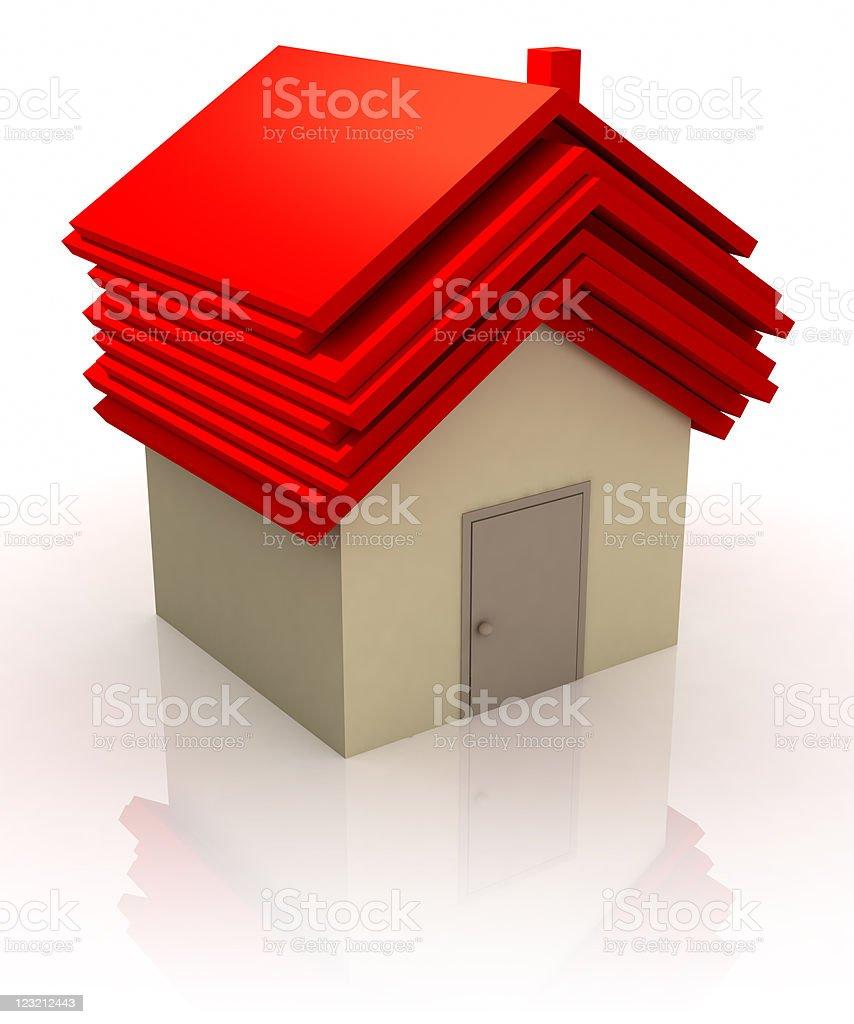 Safe house. royalty-free stock photo