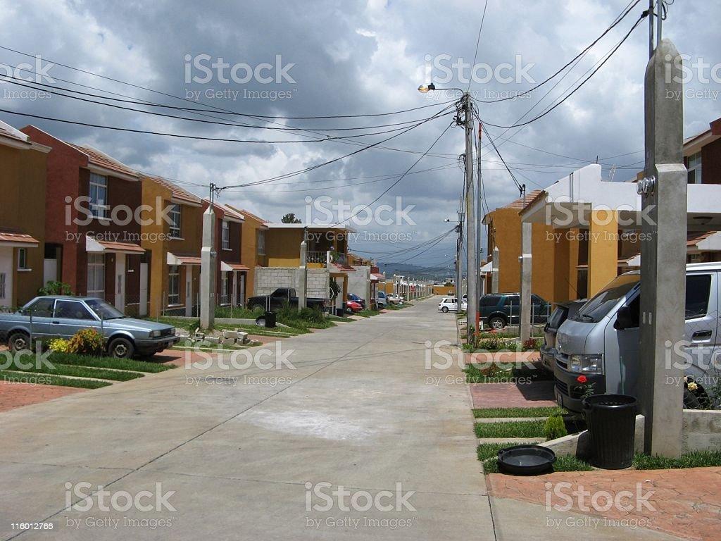 Safe Housing, Guatemalan-Style stock photo