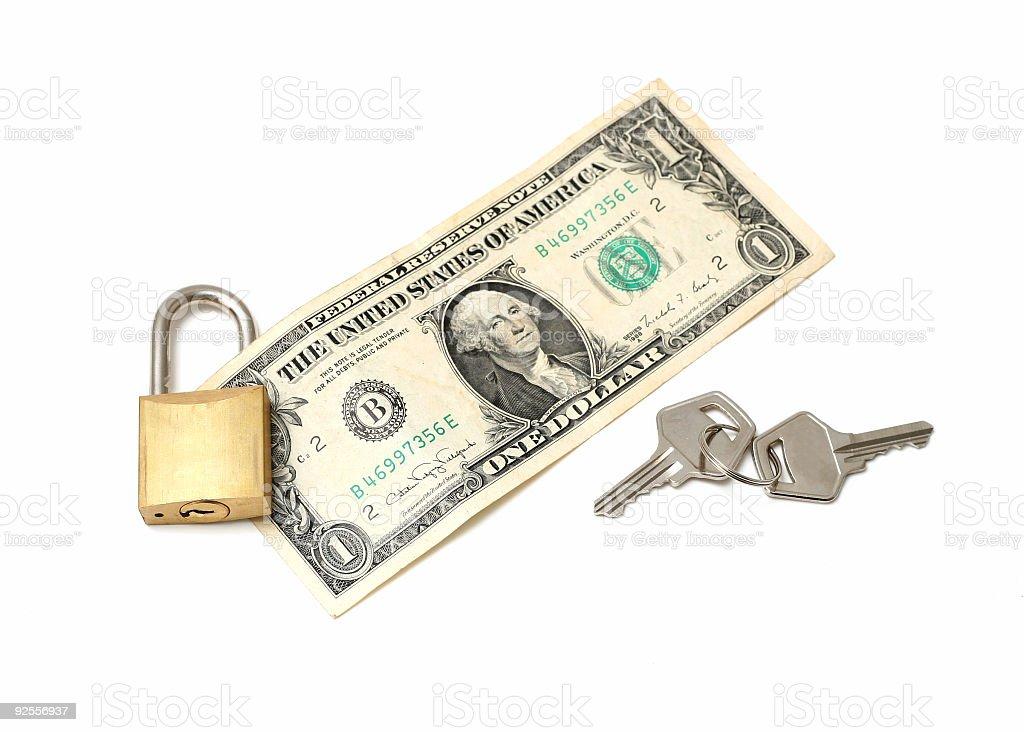 safe money concept stock photo