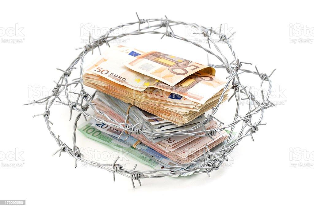 Safe money stock photo
