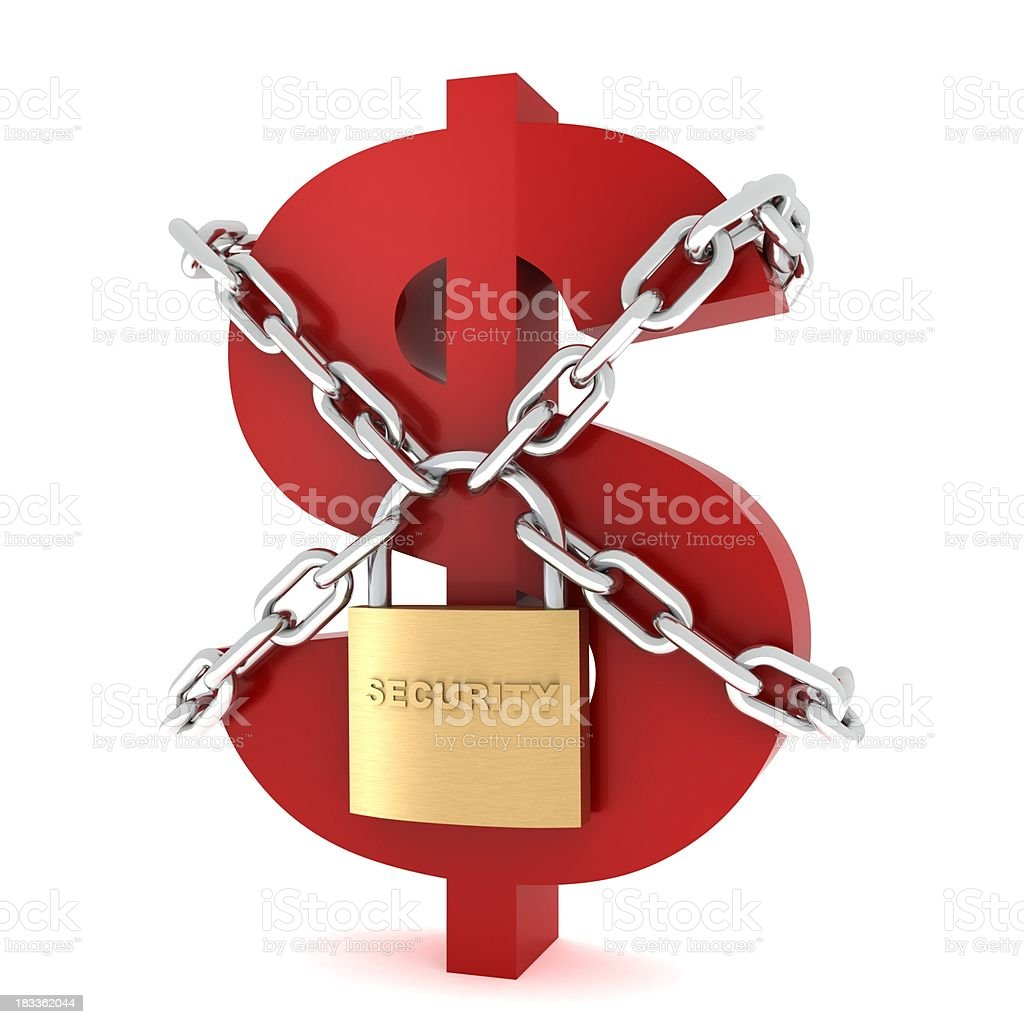 Safe Money royalty-free stock photo