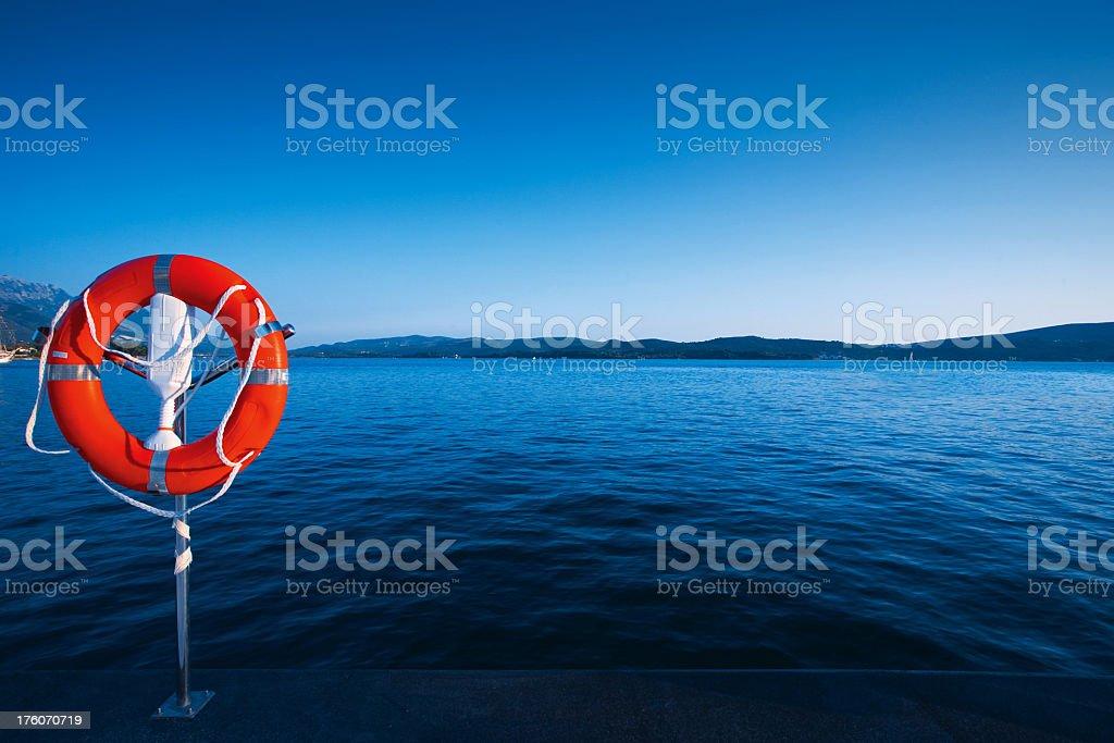 Safe sea royalty-free stock photo