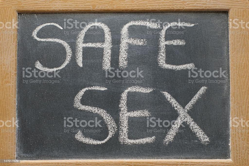 Safe Sex royalty-free stock photo