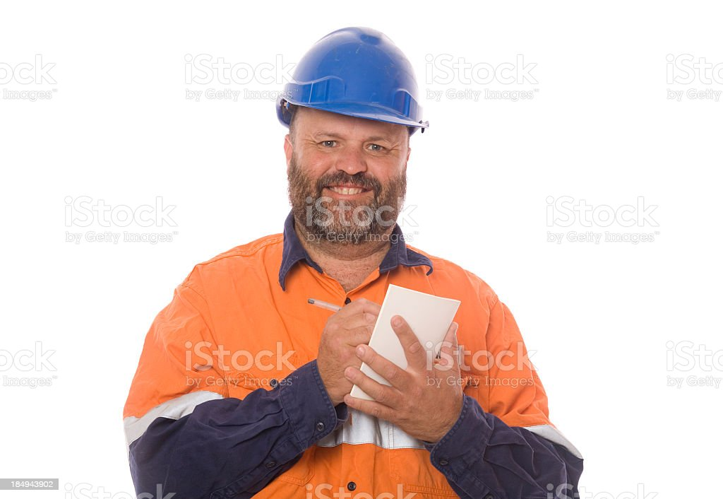 Safe Worker Concept royalty-free stock photo