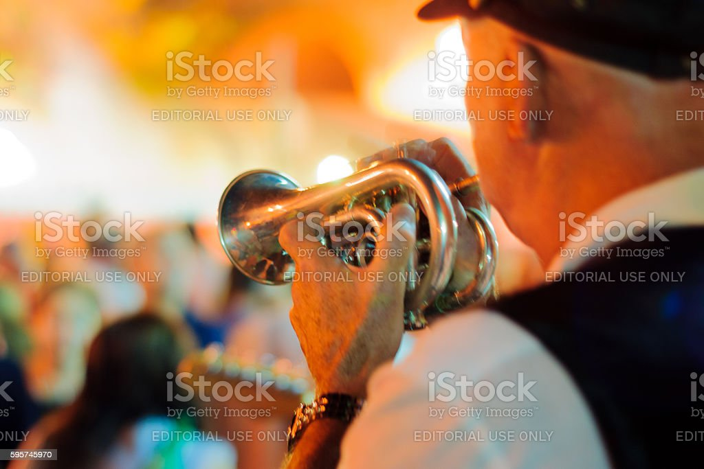 Safed Klezmer Festival stock photo