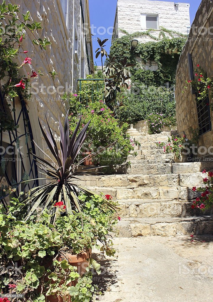 Safed, Upper Galilee, Israel stock photo