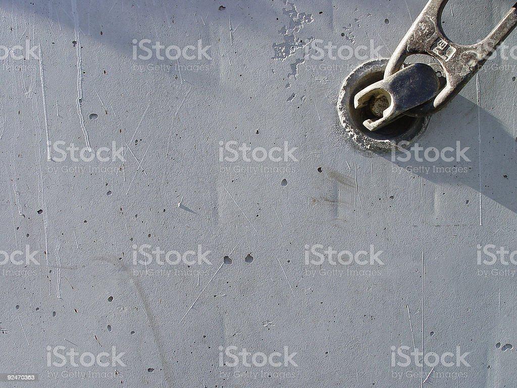 safely fastened stock photo