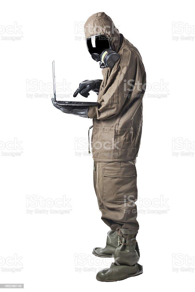 Safer internet browsing stock photo