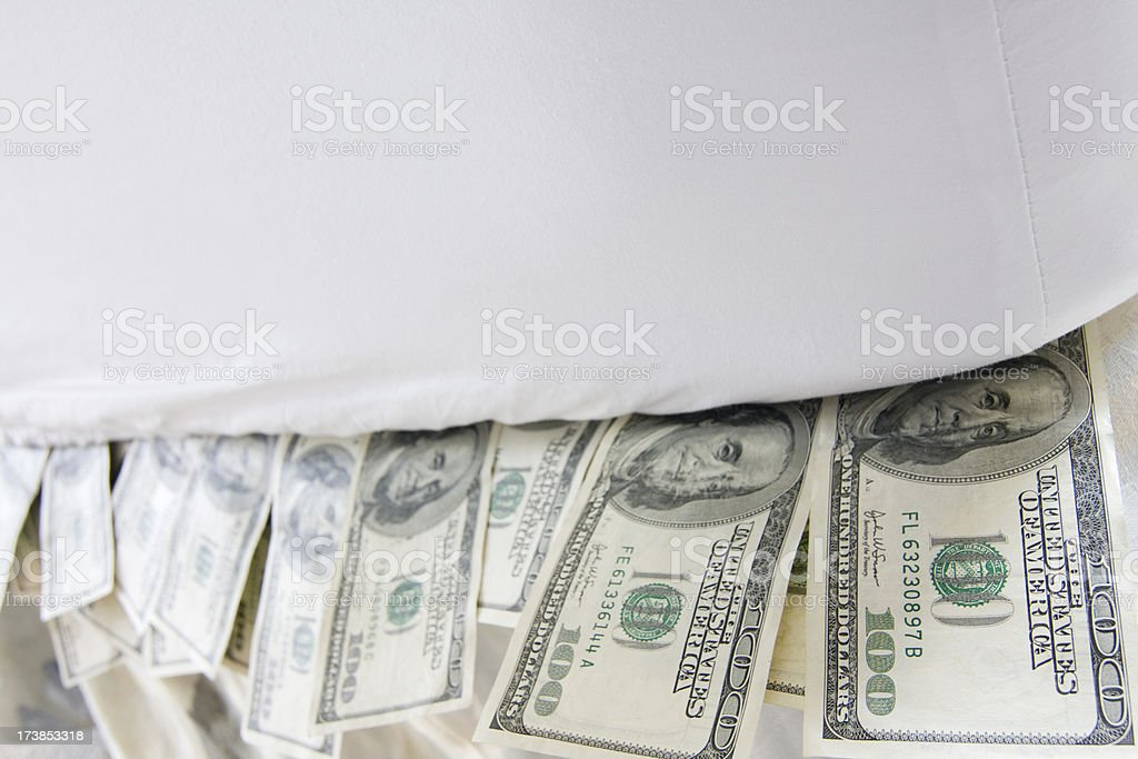 Safer Than a Bank? stock photo