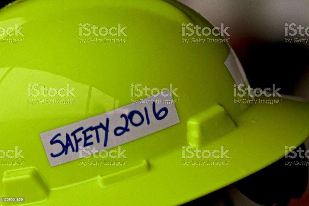 Safety 2016 stock photo
