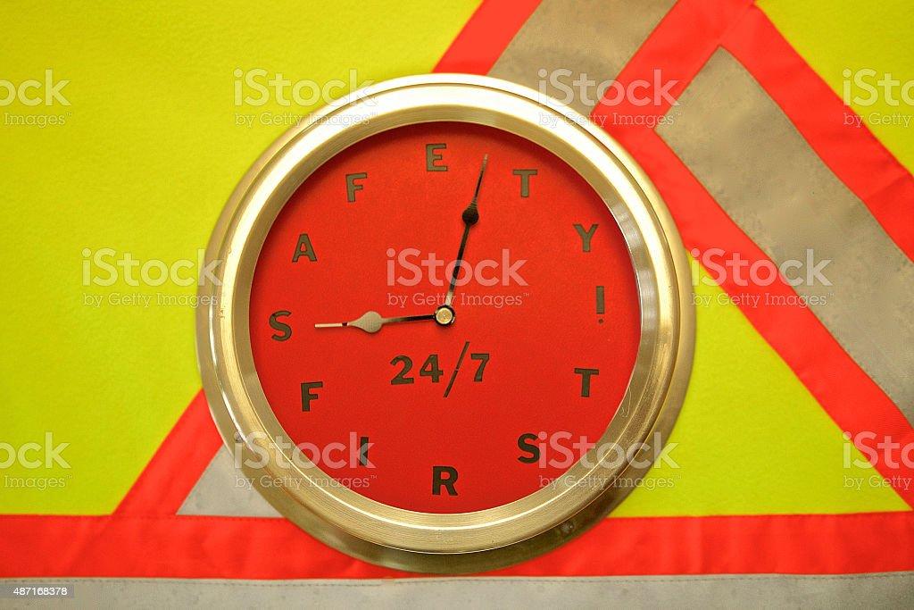 Safety 24/7 stock photo