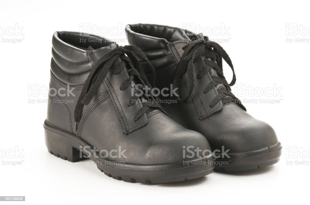 Safety Boots stock photo