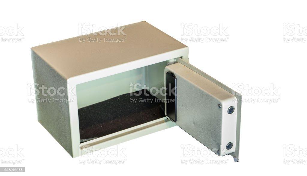 Safety box stock photo
