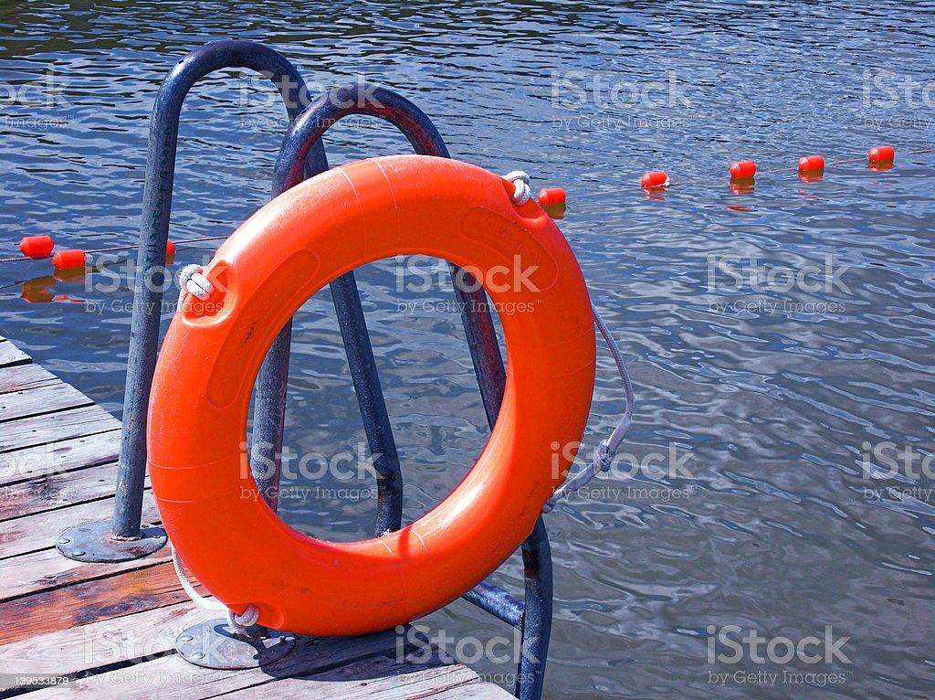Safety buoy royalty-free stock photo