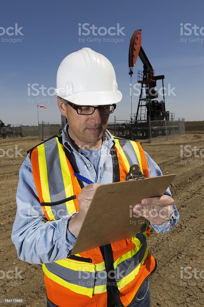 Safety Checklist royalty-free stock photo