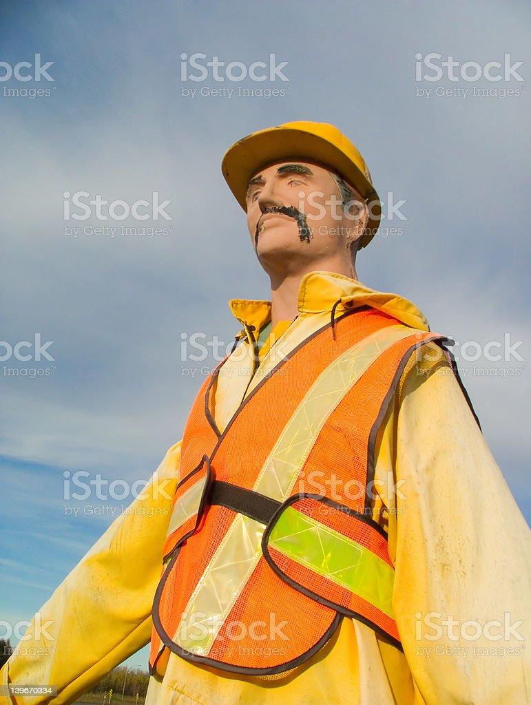 Safety dummy royalty-free stock photo