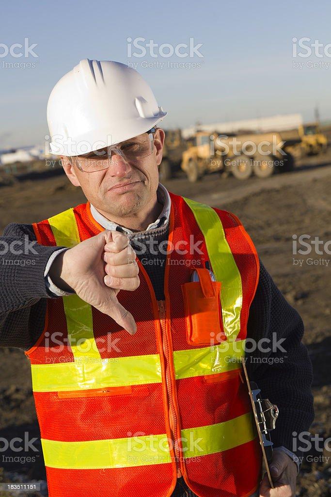 Safety Failure royalty-free stock photo