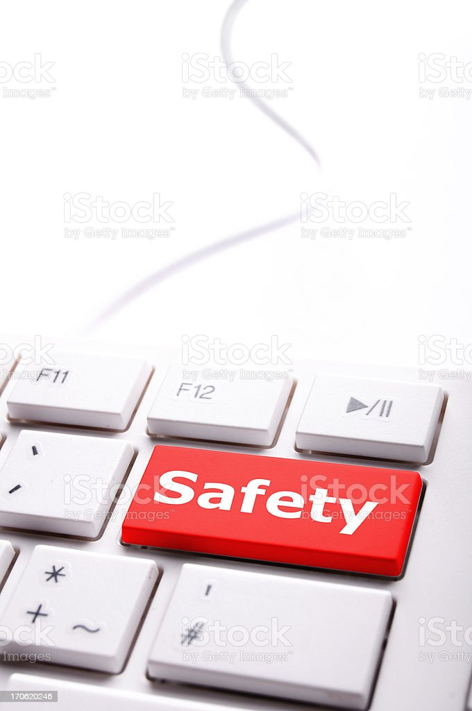 safety first royalty-free stock photo