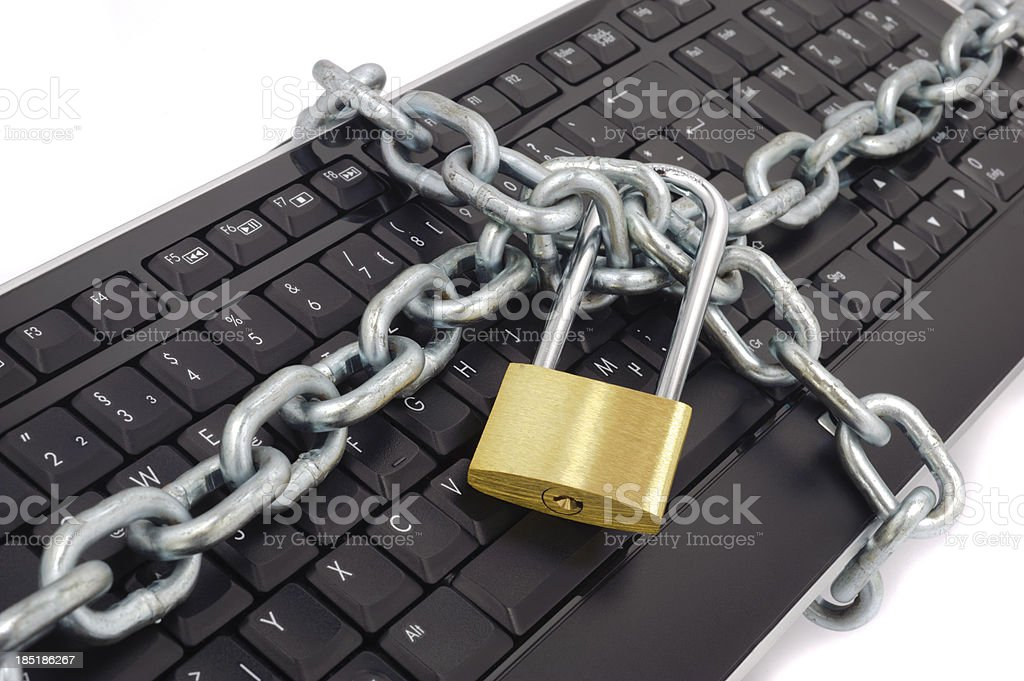 safety for internet royalty-free stock photo