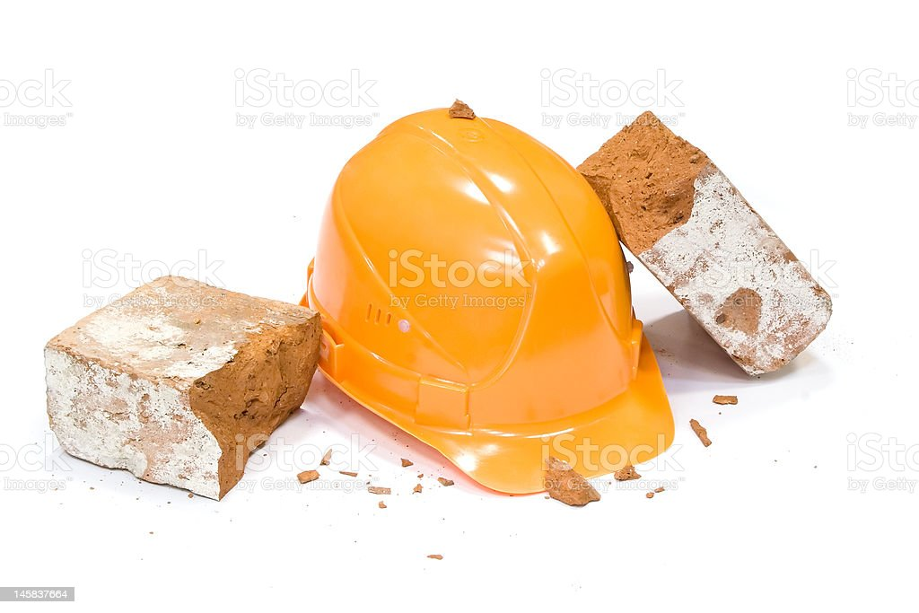 Safety helmet royalty-free stock photo