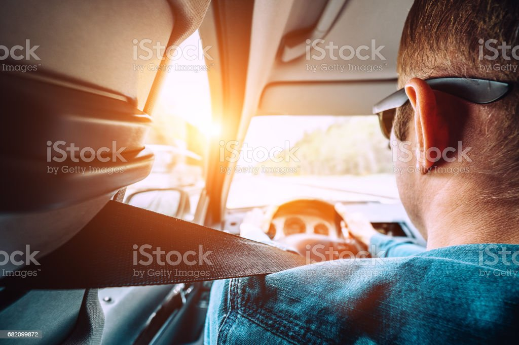 Safety in auto stock photo