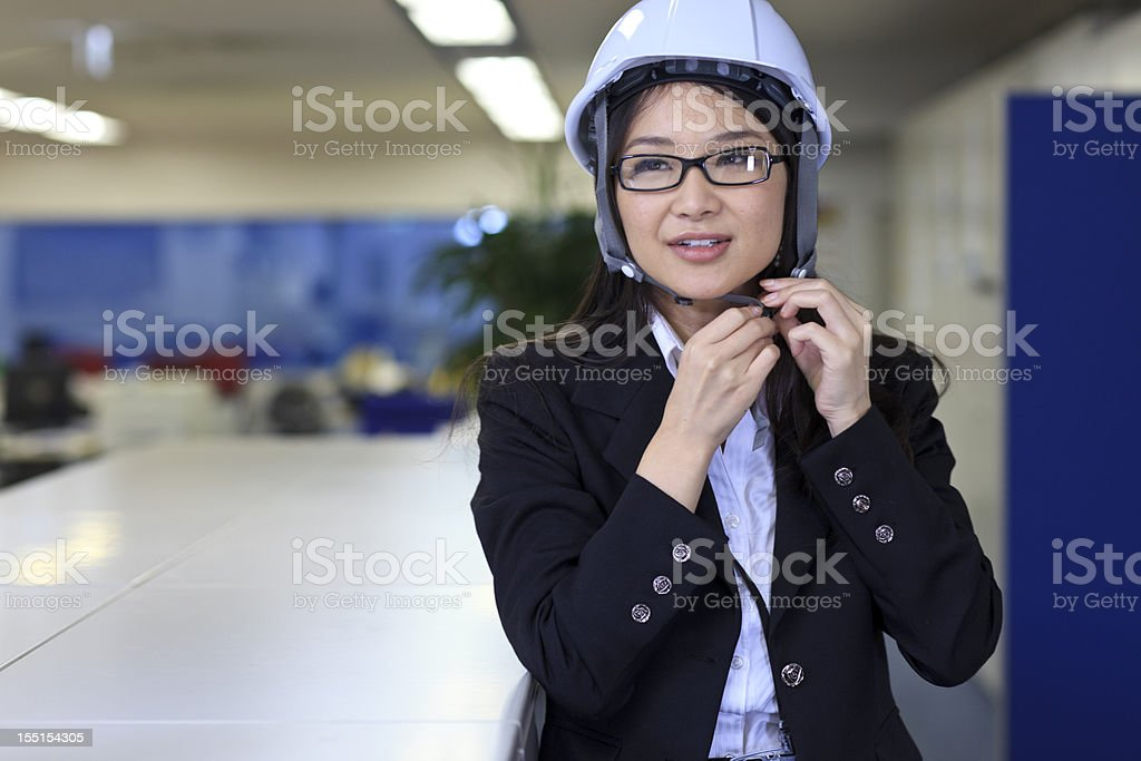 Safety in the office stock photo