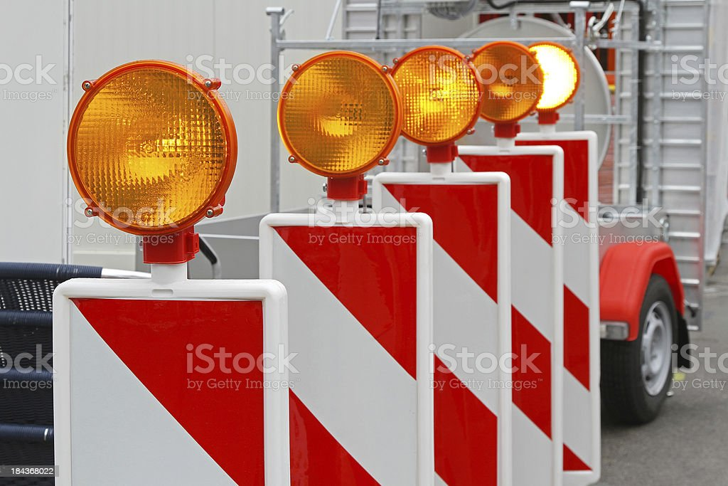 Safety light royalty-free stock photo