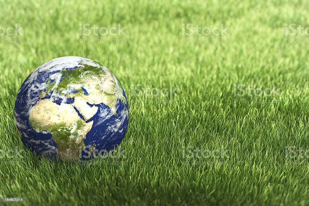 Safety of planet Earth royalty-free stock photo