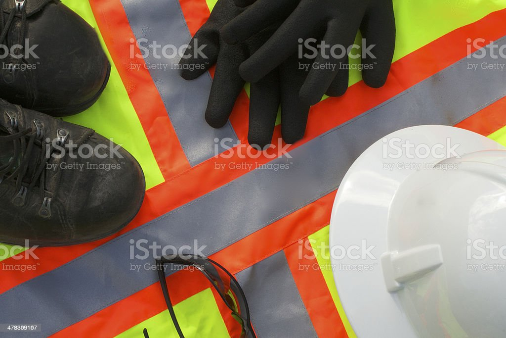 Safety, Personal Protective Equipment stock photo