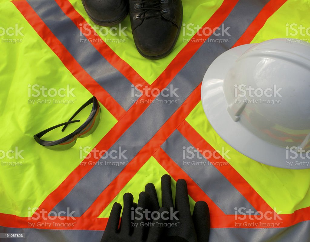 Safety Personal Protective Equipment stock photo