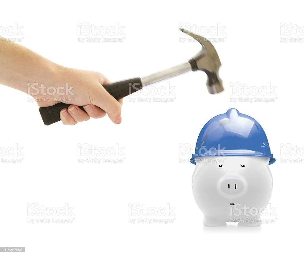 safety piggy royalty-free stock photo