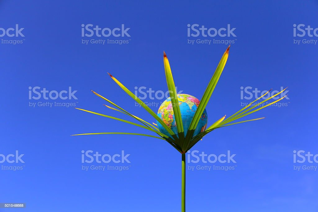 Safety planet stock photo
