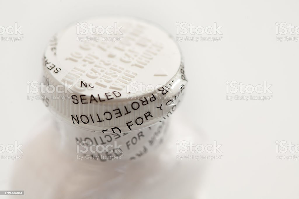 Safety Seal stock photo