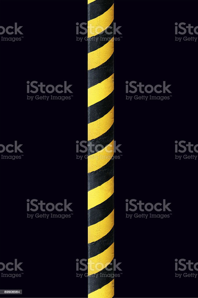safety traffic wall royalty-free stock photo