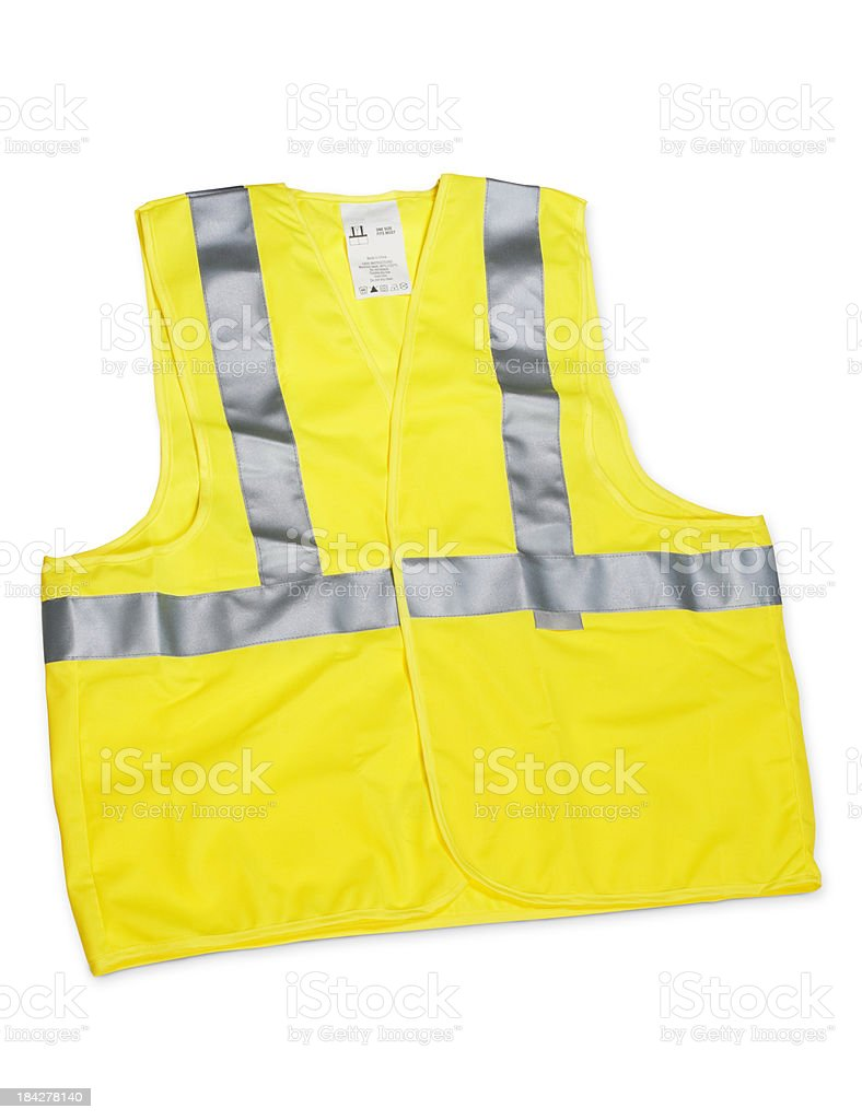 Safety vest royalty-free stock photo