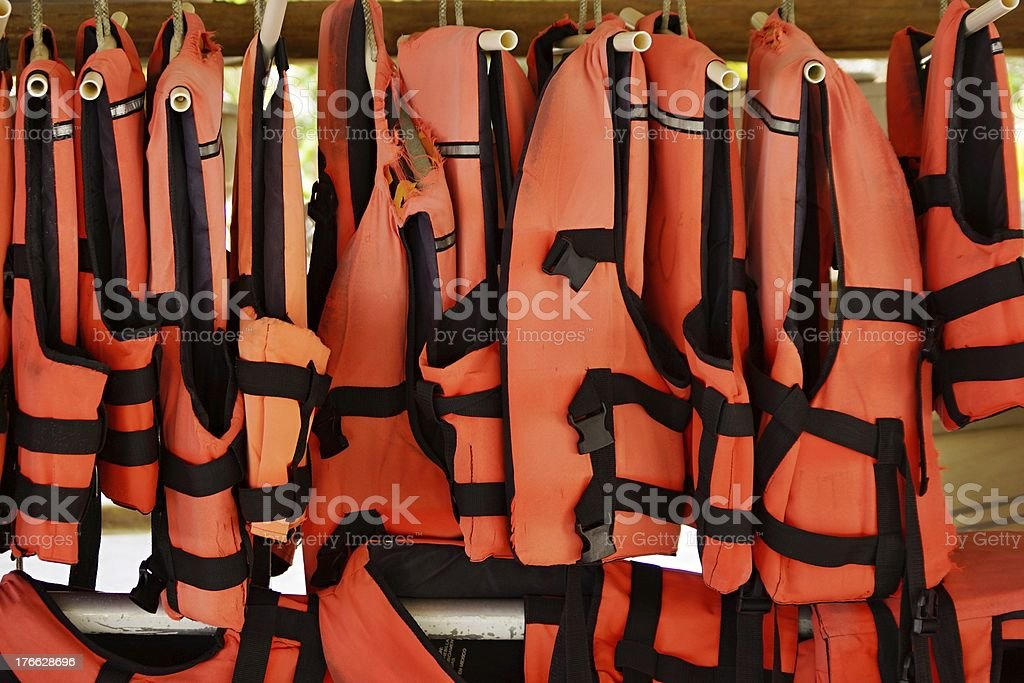 Safety vests royalty-free stock photo