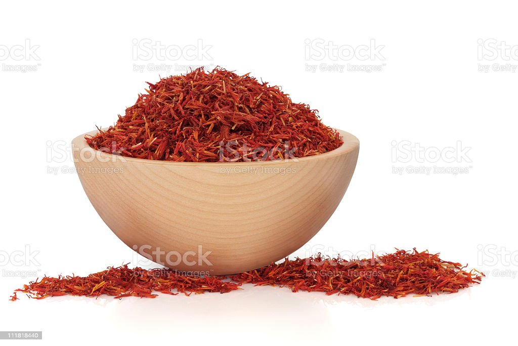 Saffron stock photo