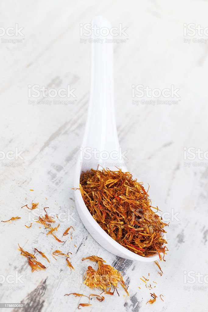Saffron. royalty-free stock photo
