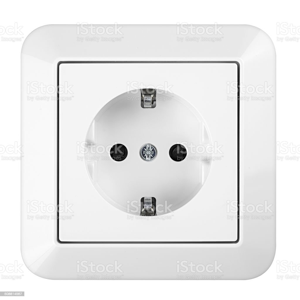 saftey socket stock photo