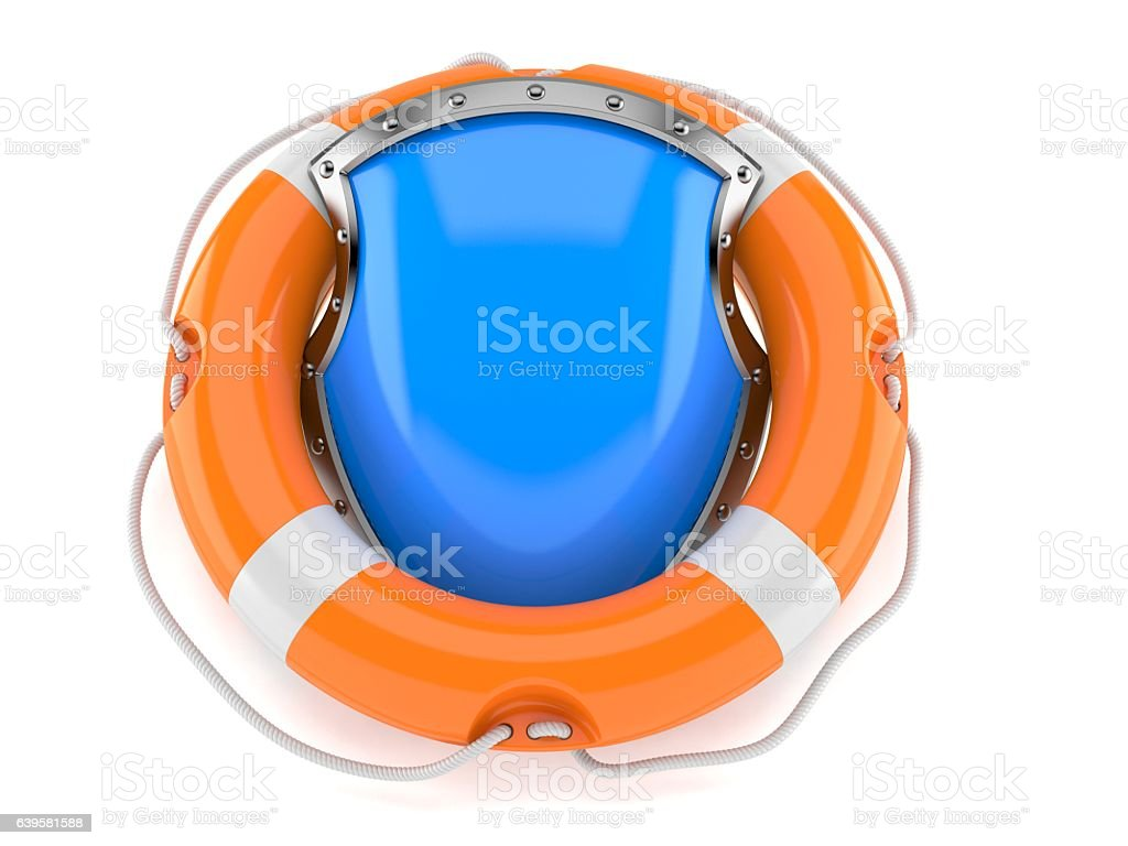 Safty help stock photo