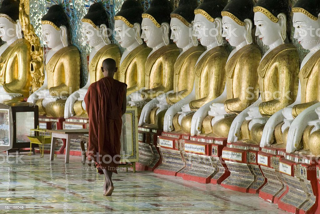 Sagaing hill, Mandalay royalty-free stock photo