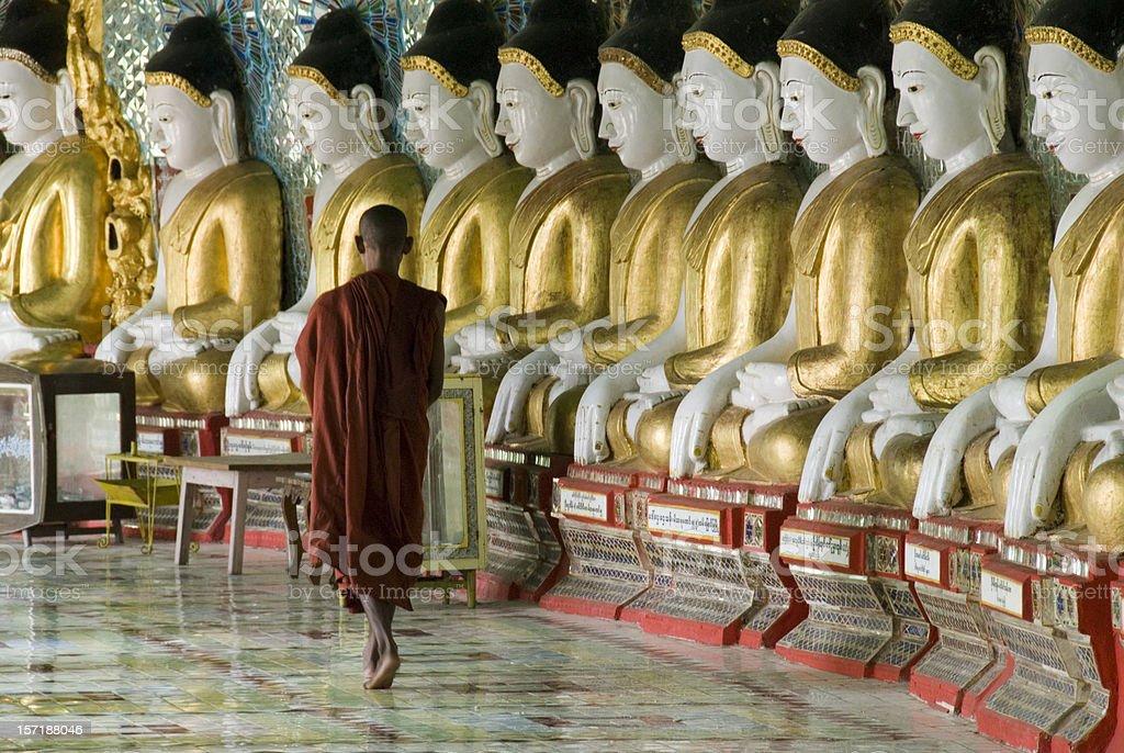 Sagaing hill, Mandalay stock photo