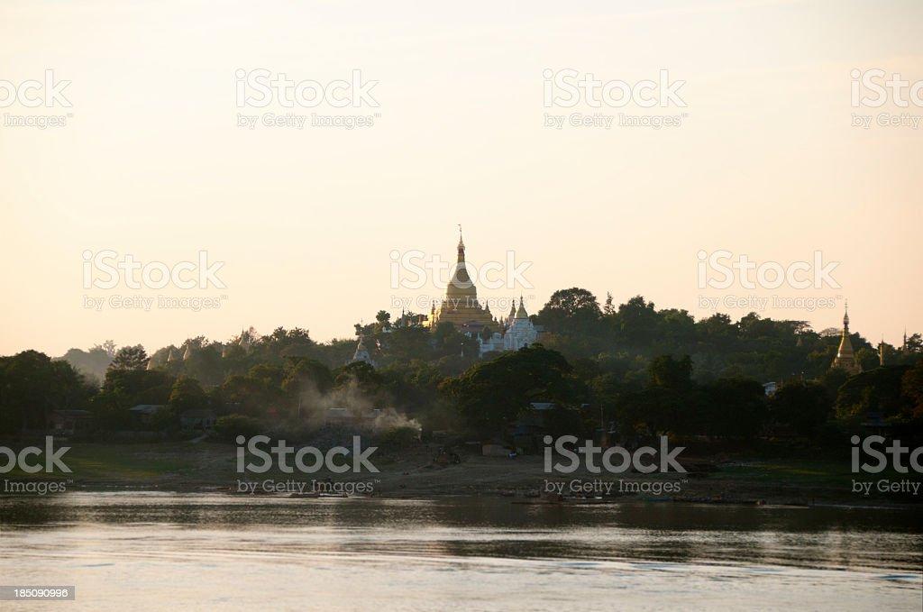 Sagaing Hills, Myanmar stock photo