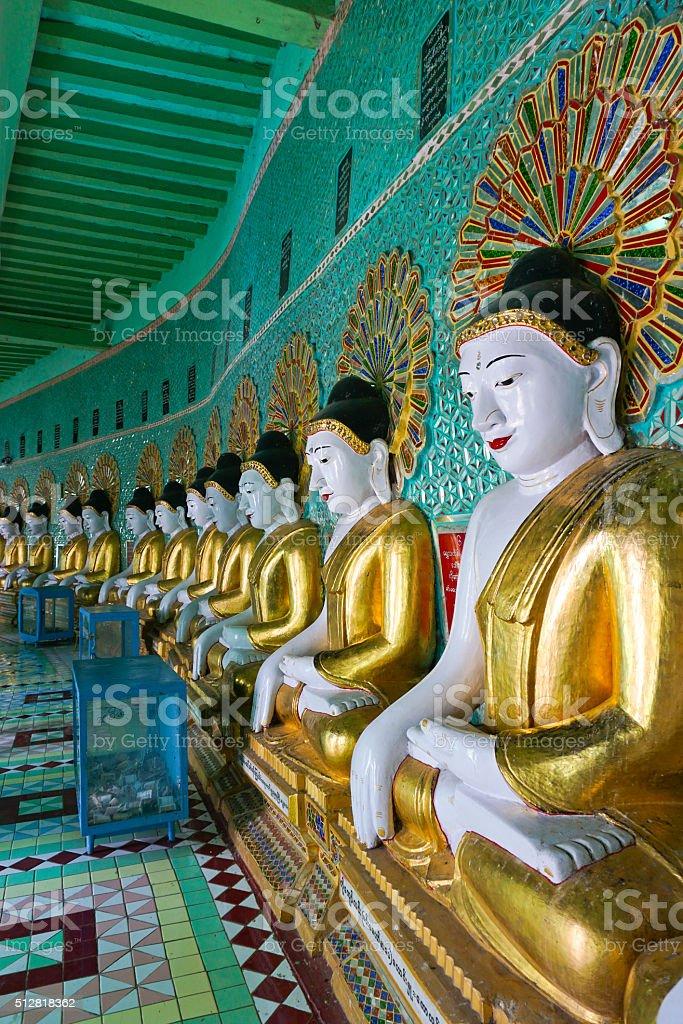 Sagaing, Mandalay stock photo